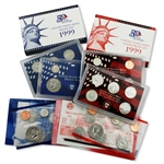 1999 Proof & Mint Set Trio - Clad & Silver