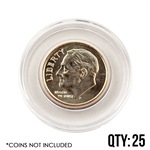 Coin Capsule - Dime - 17.9 mm - Qty 25