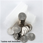 Coin Tube - Nickel - 21.2 mm -Qty 25