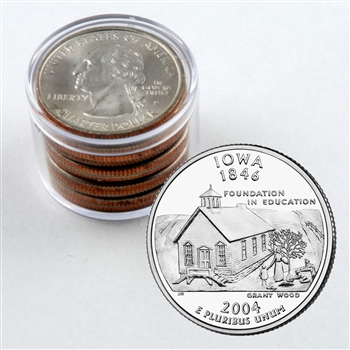 2004 Iowa Qtr Collector Roll of 10 - 5 P / 5 D