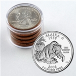 2008 Alaska Qtr Collector Roll of 10 - 5 P / 5 D