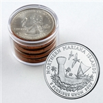 2009 Mariana Islands Qtr Collector Roll of 10 - 5 P / 5 D