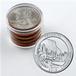 2010 Yosemite Qtr Collector Roll of 10 - 5 P / 5 D