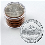 2010 Mount Hood Qtr Collector Roll of 10 - 5 P / 5 D