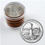 2011 Gettysburg Qtr Collector Roll of 10 - 5 P / 5 D