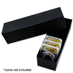 Certified Coin Display Box - 10 Coin - Black