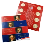 2008 Presidential 8 pc Set - Satin Finish - Original Government Packaging