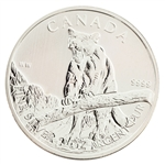 2012 Canadian Cougar $5 Silver - Uncirculated