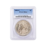 1884 Morgan Silver Dollar - New Orleans - Certified 64