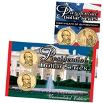 2011 Presidential Dollars P & D Lens - James A. Garfield