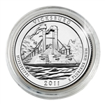 2011 Vicksburg Platinum Quarter - Denver