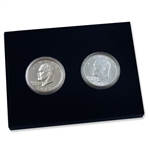 1973 Silver Eisenhower 2 Piece Set (Uncirculated & Proof) - the Rarest!