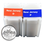 1999 New Jersey  Quarter Rolls - Philadelphia & Denver Mints - Uncirculated