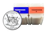 2002 Tennessee Quarter Rolls - Philadelphia & Denver Mints - Uncirculated