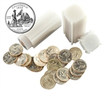 2005 California Quarter Rolls - Philadelphia & Denver Mints - Uncirculated