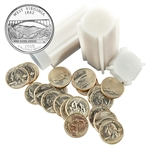 2005 West Virginia Quarter Rolls - Philadelphia & Denver Mints - Uncirculated