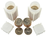 2006 South Dekota Quarter Rolls - Philadelphia & Denver Mints - Uncirculated