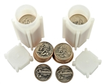 2007 Washington Quarter Rolls - Philadelphia & Denver Mints - Uncirculated