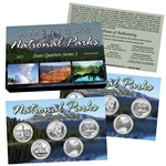 2011 National Parks Quarter Mania Set - P & D