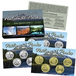 2011 National Parks Quarter Mania Set - P D & Gold