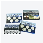 2011 National Parks Quarter Mania Uncirculated Set - Ultimate (6 Sets)
