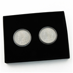 First and Last San Francisco Mint Morgans - Uncirculated 1878 & 1921