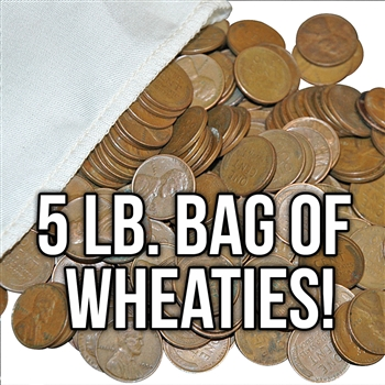 Midwestern Hoard 5 lbs of Wheat Cents