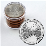 2011 Chickasaw Quarter Collector Roll of 10 - 5 P / 5 D