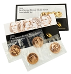 2010 First Spouse Bronze Medal Collection - 4 PC Set