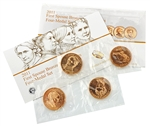 2011 First Spouse Bronze Medal Collection - 4 PC Set