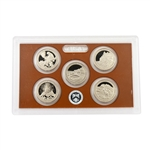 2012 America The Beautiful Proof Set - Quarters Only
