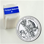 2012 El Yunque Quarter Roll - Philadelphia Mint - Uncirculated