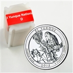 2012 El Yunque Quarter Roll - Denver Mint - Uncirculated