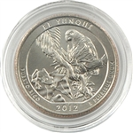 2012 El Yunque Quarter Philadelphia - Uncirculated