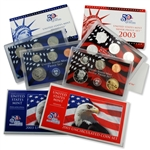 2003 Proof & Mint Set Trio - Clad & Silver