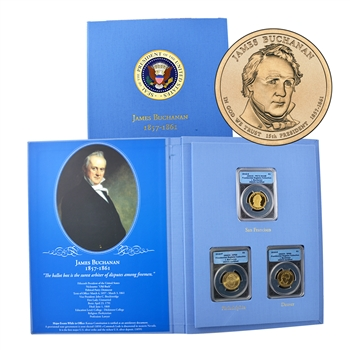 2010 Presidential Registry Collection - James Buchanan