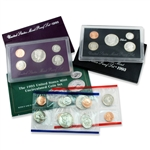 1993 Proof & Mint Set Trio - Clad & Silver