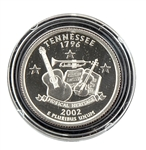 2002 Tennessee Proof Quarter - San Francisco Mint