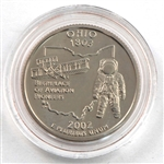 2002 Ohio Proof Quarter - San Francisco Mint