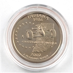 2002 Indiana Proof Quarter - San Francisco Mint