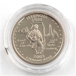 2003 Illinois Proof Quarter - San Francisco Mint
