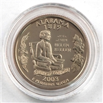 2003 Alabama Proof Quarter - San Francisco Mint