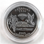 2003 Arkansas Proof Quarter - San Francisco Mint