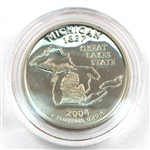 2004 Michigan Proof Quarter - San Francisco Mint