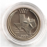 2004 Texas Proof Quarter - San Francisco Mint