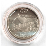 2004 Iowa Proof Quarter - San Francisco Mint