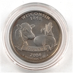 2004 Wisconsin Proof Quarter - San Francisco Mint