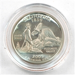 2005 California Proof Quarter - San Francisco Mint