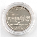 2005 Minnesota Proof Quarter - San Francisco Mint