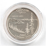 2005 Oregon Proof Quarter - San Francisco Mint